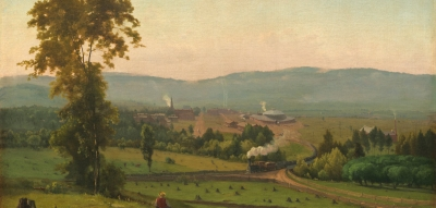 "George Inness, ""The Lackwanna Valley"" (1856)"